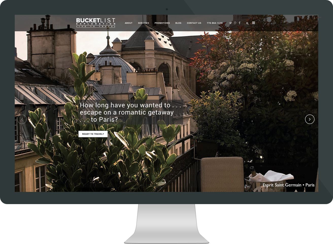 travel agency website by Macgirl