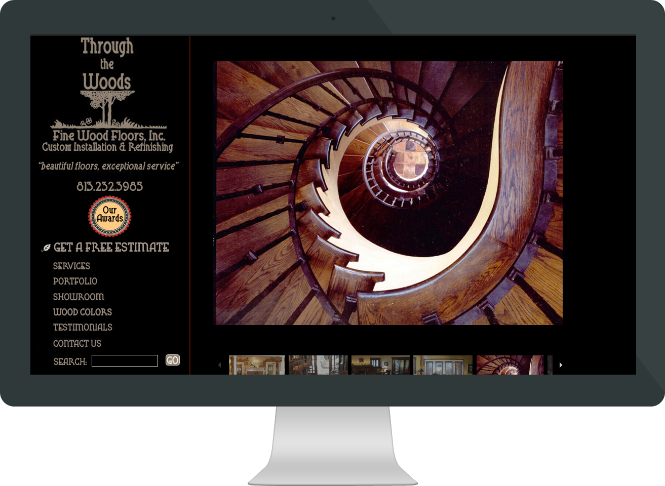 macgirl website for wood flooring company